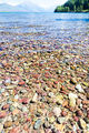 Colorful Rocks Lake Mcdonald print
