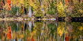 Minnesota Fall Reflections print