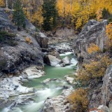 Gold, rush, aspen, colorado, photograph, color, water, aspens, limited, edition, gallery, prints