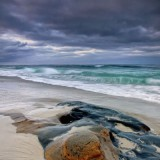 ocean, la jolla, san diego, wind, and sea, purple, blue, mystery, peacfull, color, california, Image, photograph,