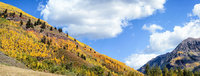 aspen, Colorado, warm, fall, day surrounded, by mountains, travel, color, mountains, in, photography,