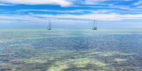 Florida, Ocean, Boat, Florida Keys, panoramic