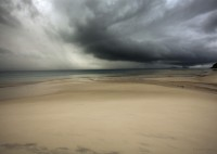 Muted, Whitisland, Australia, dramatic storm, beautiful color tones, ocean, storm,