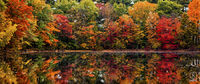 Massachusetts, fall, colors, lake