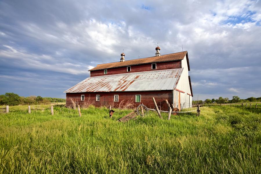 2014 Nebraska Calendar, old, barn, wahoo, nebraska