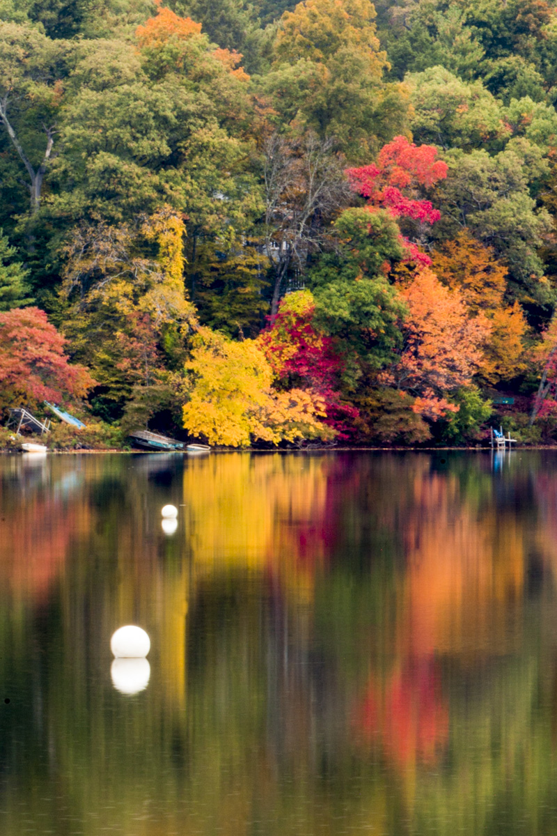 New England's dramatic explosion of color each autumn starts in the northern New England states of Maine and New Hampshire...