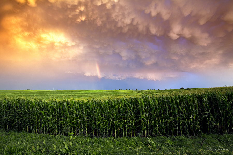 Post, storm, tornado, Nebraska, photo
