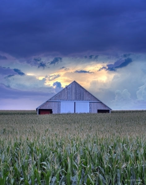 I had no intention on photographing this barn. I was with a group of friends drving back from fishing in Anita, Iowa. On our...