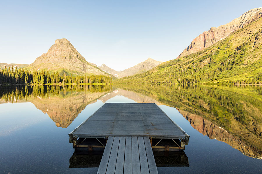 Glacier National Park is one of Scott's favorite locations due to its gorgeous scenery and abundant water. This capture reflects...