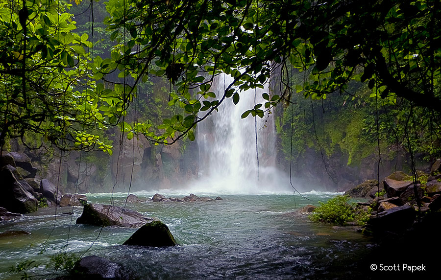 waterfall, photo