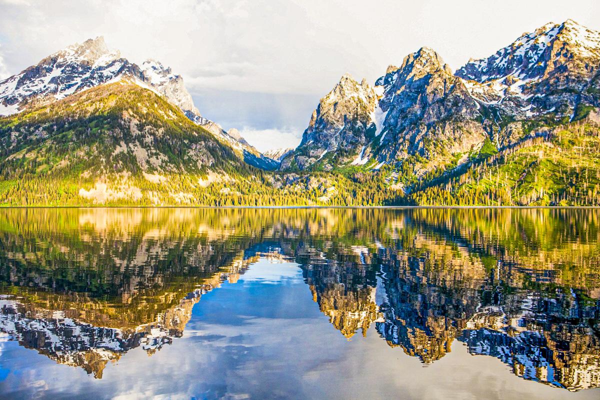 Lake Jenny reflections