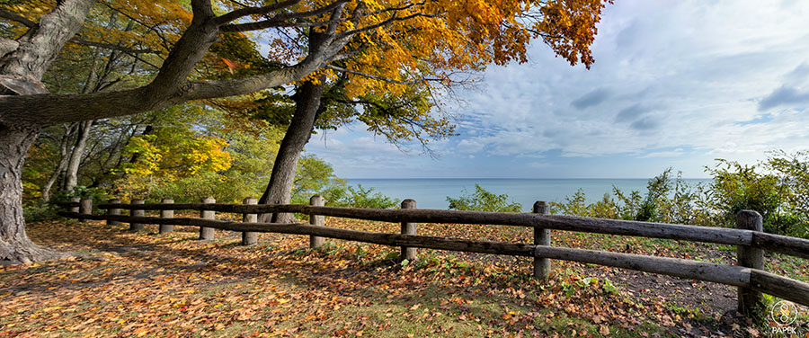 Traveling up, down, and side to side looking to capture the peak color and true spirit of Wisconsin was breathtaking. Grant Park...