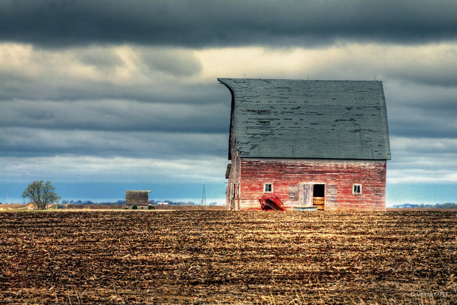 classic, Nebraska, barn, image, missing, shingles, barns, photo