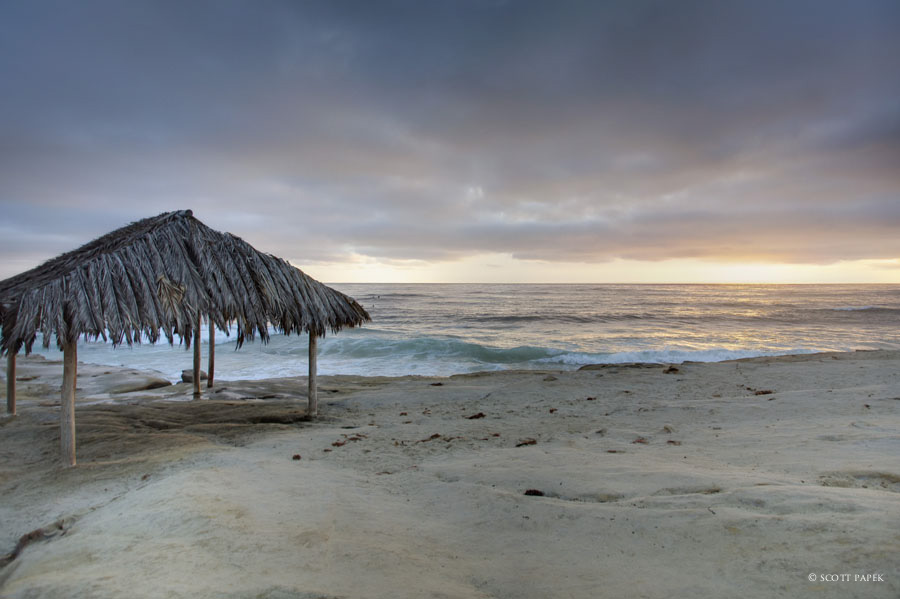 hut, la jolla, california, scott papek, photo